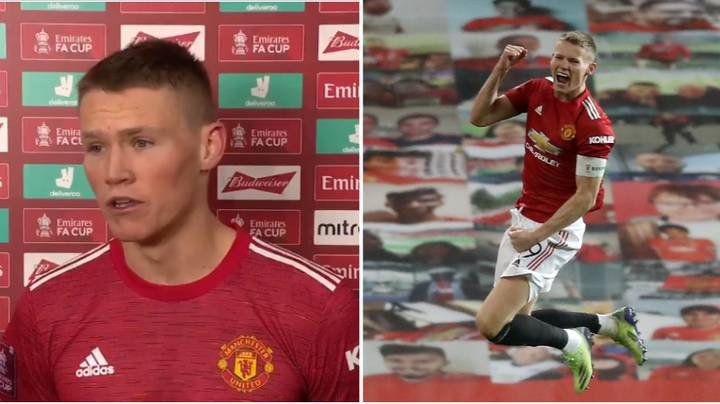 Scott McTominay Hailed As A Future Manchester United Captain After Mature Post-Match Interview