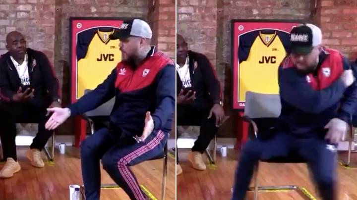DT Loses His Head On AFTV And Smashes His Phone