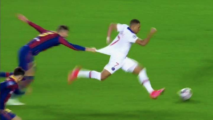 The Only Way Gerard Pique Could Stop Lethal Kylian Mbappe In Champions League Masterclass
