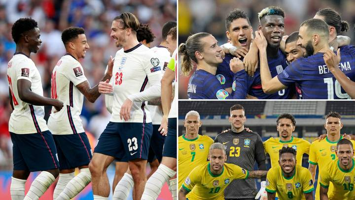 The 20 Most Valuable National Squads In World Football Have Been Named & Ranked