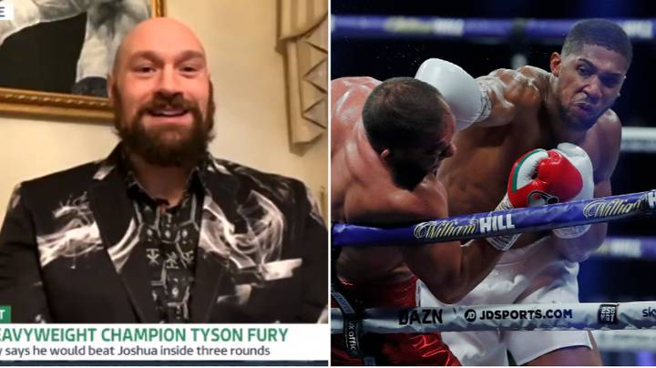 Tyson Fury Taunts Anthony Joshua And Makes Damning Prediction Ahead Of Potential Undisputed Clash