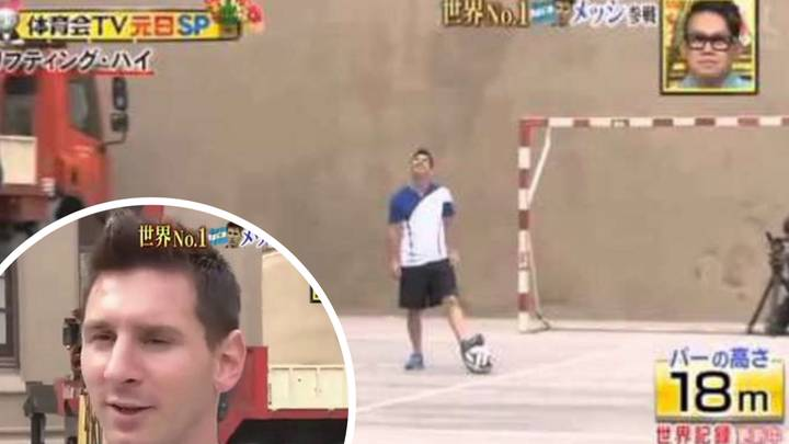 Lionel Messi Broke A World Record On Japanese TV Show