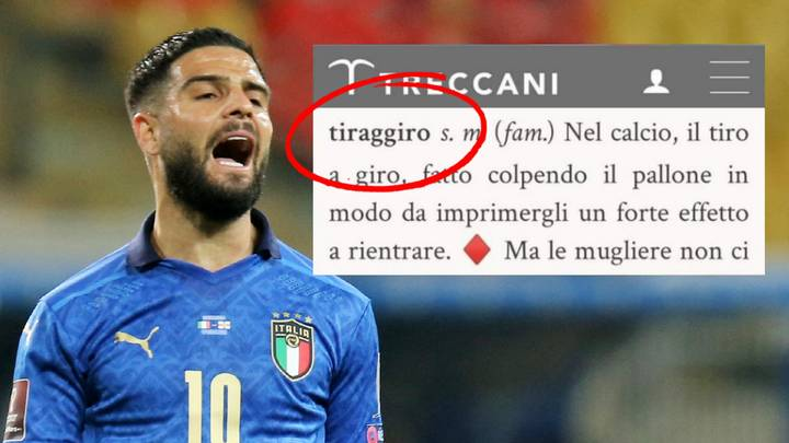 Lorenzo Insigne Is Responsible For A Word In The Italian Dictionary After Euro 2020 Heroics