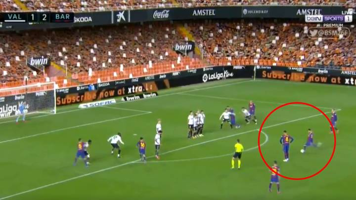 Lionel Messi Proves He's Still Got It With Brilliant Free-Kick For Barcelona Away To Valencia