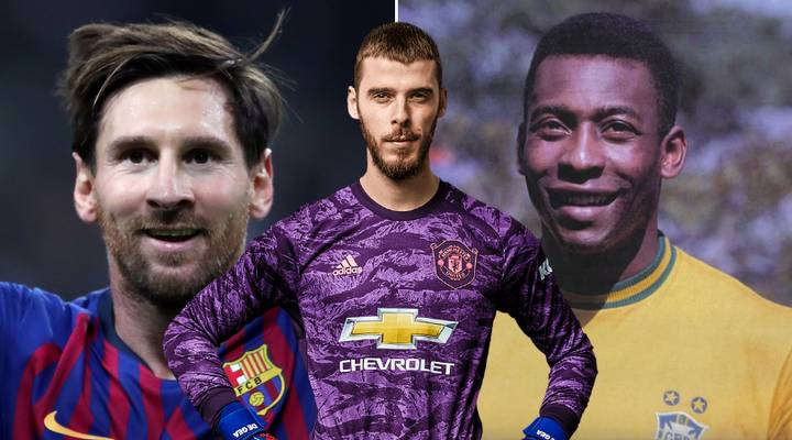 Manchester United Fan Shockingly Named David De Gea In 'Greatest Football XI Ever'