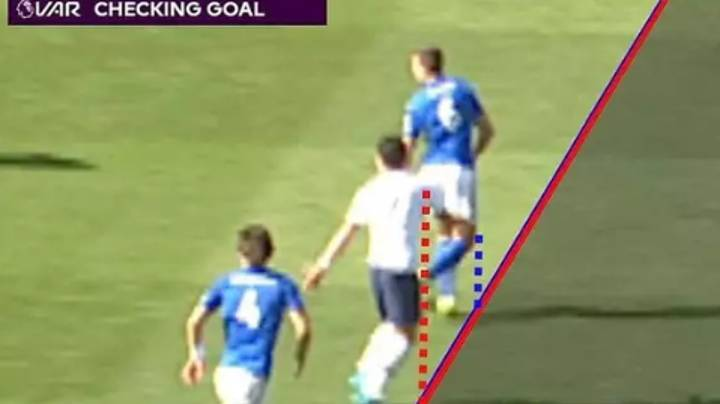 Calculations Show How VAR Is Not Suited For Tight Offside Calls