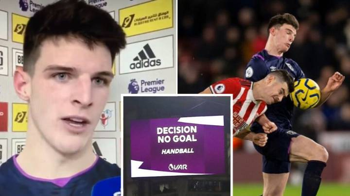 Declan Rice Claims VAR Isn't Wanted By Any Premier League Player