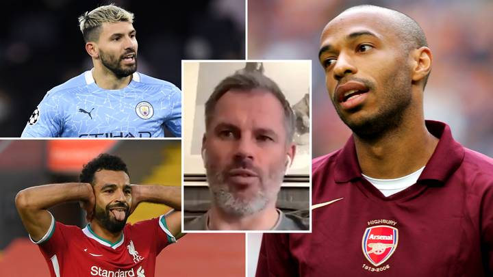 Jamie Carragher Names His Top Ten Premier League Strikers In Incredibly Controversial List