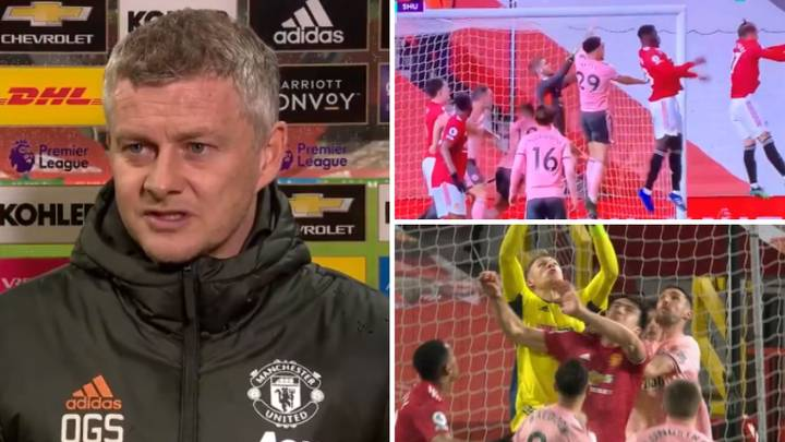 Ole Gunnar Solskjaer Left Raging At Referee Over Two Key Decisions During Manchester United's Shock Defeat