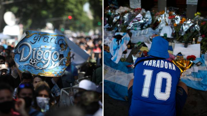Man Who Took Picture Of Diego Maradona's Dead Body Hands Himself Into The Police