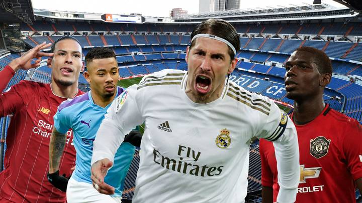 Sergio Ramos Has Scored More Goals From Centre-Back Than Some Of The World's Best Players