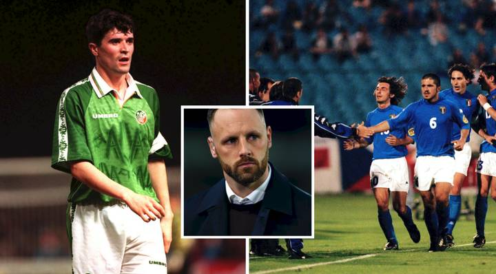 Revealed: Italy Legends Were Starstruck When Meeting Roy Keane