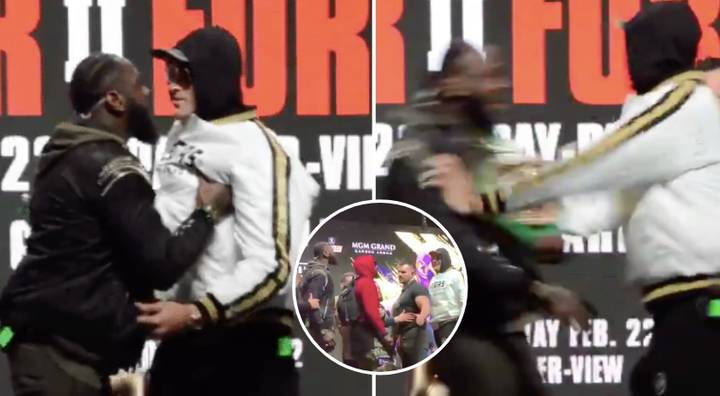 Tyson Fury And Deontay Wilder Press Conference Lives Up To Hype Factor Ahead Of Rematch