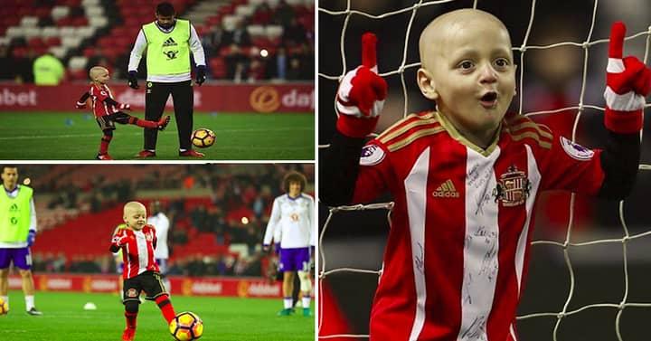 Let's Help Bradley Lowery Win Premier League Goal Of The Month