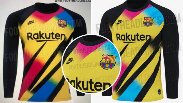 Barcelona's 2019/20 Third Goalkeeper Kit Is Sure To Split Opinion