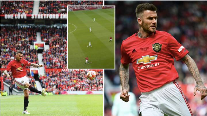 Fans Want Man Utd To Sign David Beckham After Masterclass In Passing vs Bayern