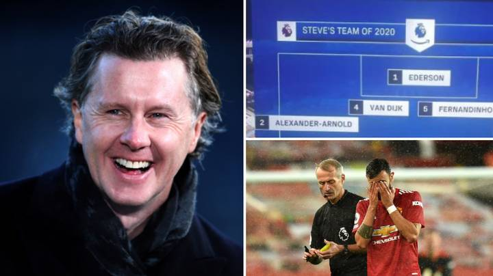 Steve McManaman Omits Bruno Fernandes From His Premier League Team Of 2020