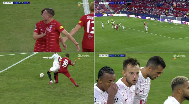 Sevilla Vs Salzburg Produced The Craziest First Half Ever