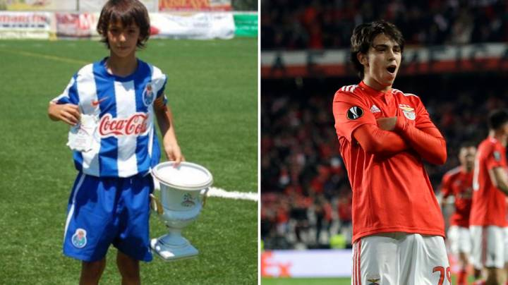 Benfica's 19-Year Old Sensation Joao Felix Was Released By Porto Due To 'Slight Frame'