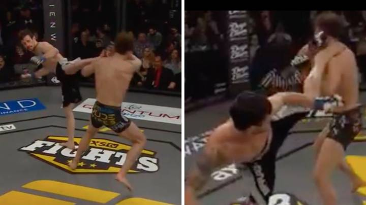 MMA Fighter Uses WWE Legend Shawn Michaels' Finisher 'Sweet Chin Music' To Win Fight