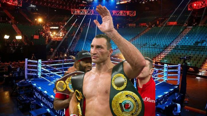 Former Heavyweight World Champion Wladimir Klitschko Offered £60 Million To Come Out Of Retirement