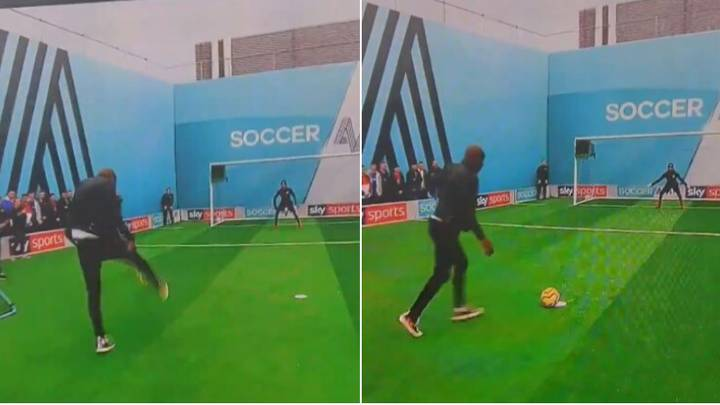 People Can't Believe How Bad Carlton Cole's Performance Was On Soccer AM