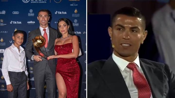 Cristiano Ronaldo Says He Gets 'P*ssed Off' When His Son Drinks Coca-Cola