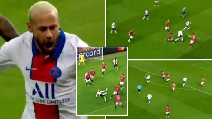 Neymar's Highlights Show How Good He Was Vs Manchester United