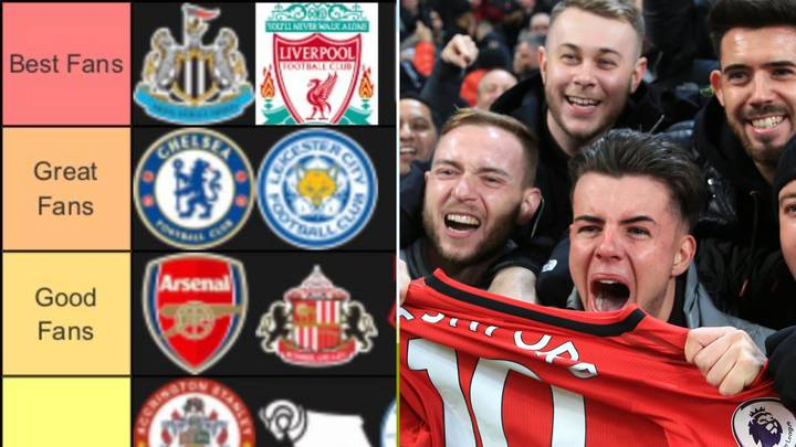 The Fans Of English Clubs Have Been Ranked From 'Best Fans' To 'No Fans'