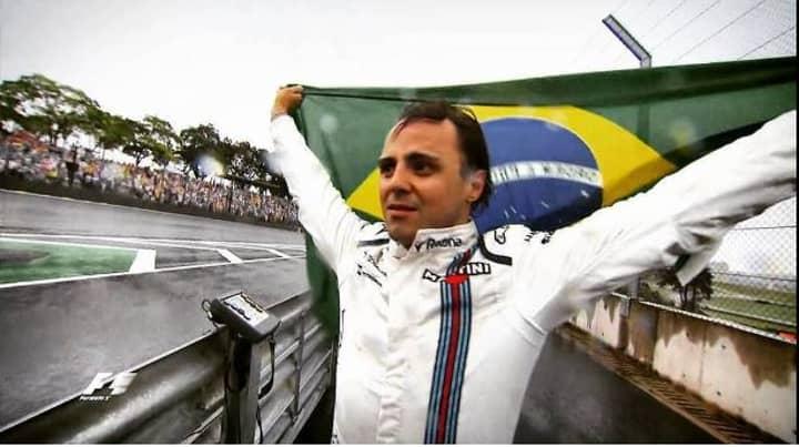 WATCH: Emotional Scenes As Felipe Massa Crashes During His Final Grand Prix