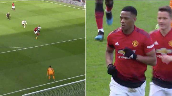 Anthony Martial Turns Into Lionel Messi Against Fulham And Scores Unbelievable Solo Effort