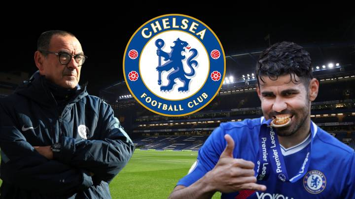 Chelsea Boss Maurizio Sarri Should 'Break The Bank To Re-sign' Diego Costa