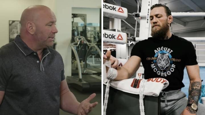 Dana White Hints When Conor McGregor's Next Fight Will Be