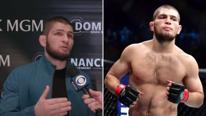 Khabib Nurmagomedov Reveals His Six Greatest UFC Fighters Of All Time