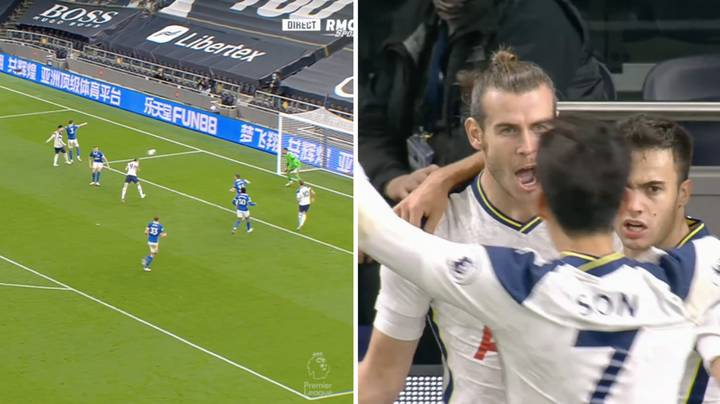 Gareth Bale Shouted 'VAMOS!' After Scoring First Goal On Tottenham Return