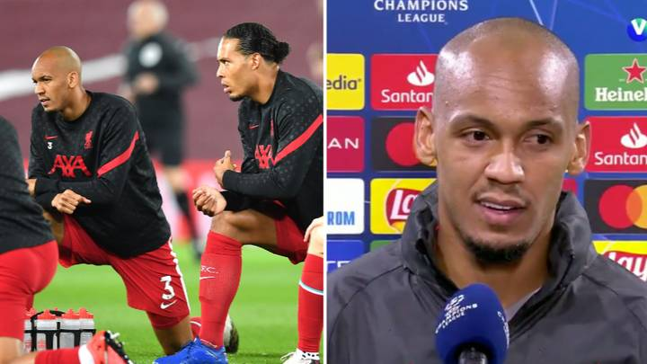 Fabinho Tried To Copy Virgil Van Dijk's Style After Defender's WhatsApp Message Of Support