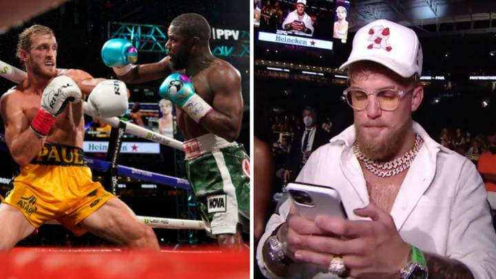 """""""50-1"""" - Jake Paul Says Logan Paul Beat Floyd Mayweather In Their Exhibition Bout"""