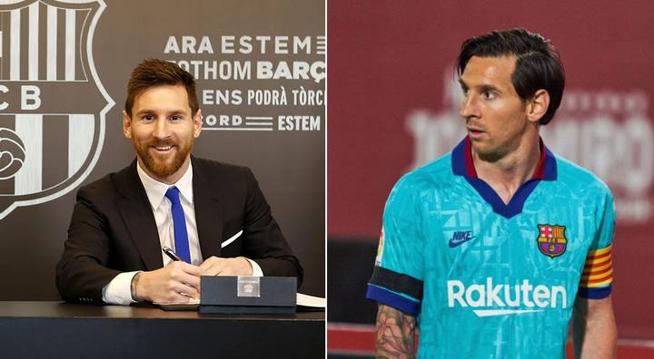 Lionel Messi And Barcelona Start Extension Talks At Over £1 Million A Week