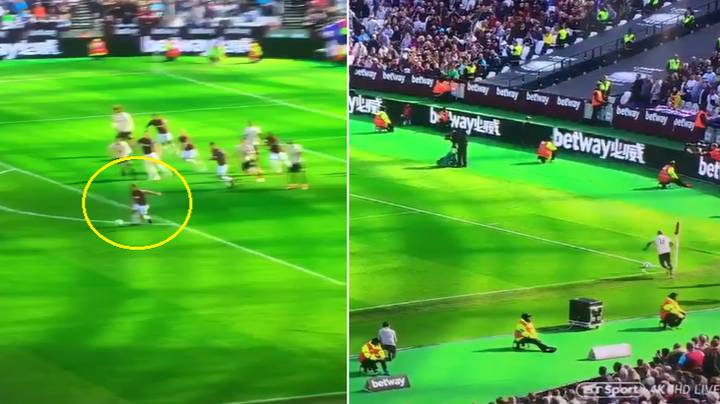 Ashley Young Takes One Of The Worst Corner Kicks You'll Ever See