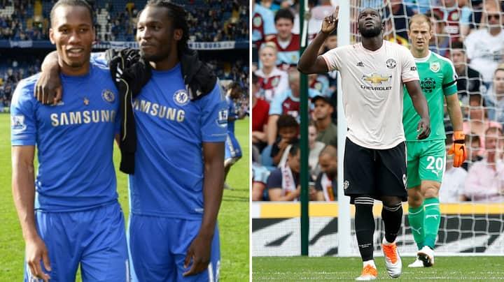Romelu Lukaku Has Scored As Many Premier League Goals As Didier Drogba