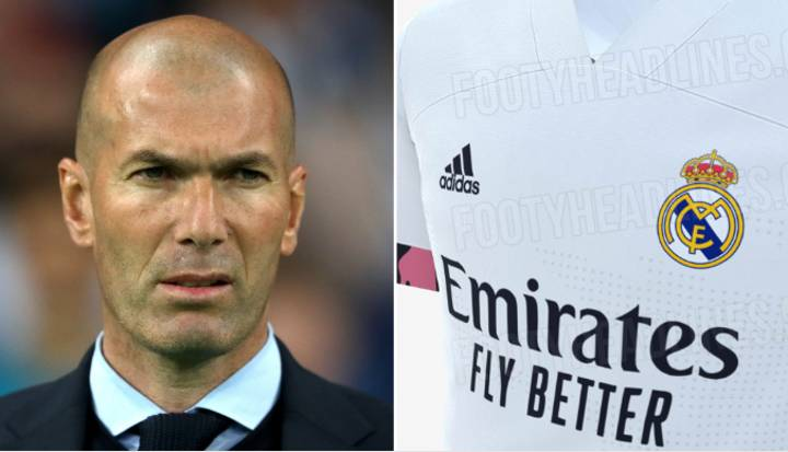 Real Madrid's 2020/21 Home Kit Has Been 'Leaked' And Fans Hate It