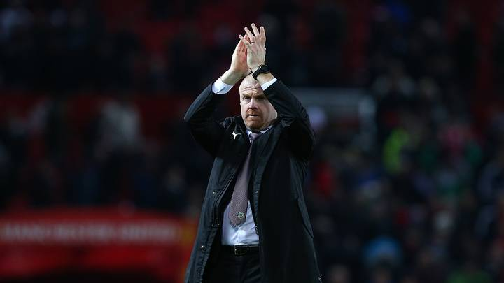The Reason Why Sean Dyche Was Spotted Inspecting Old Trafford Pitch Before Kick-Off