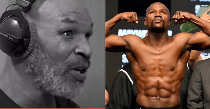 Mike Tyson Questions Floyd Mayweather's 'GOAT' Status, Points Out The Boxer With A Better Record