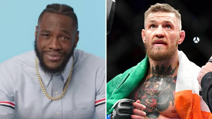 Deontay Wilder Reacts To A Potential Crossover Fight With Conor McGregor