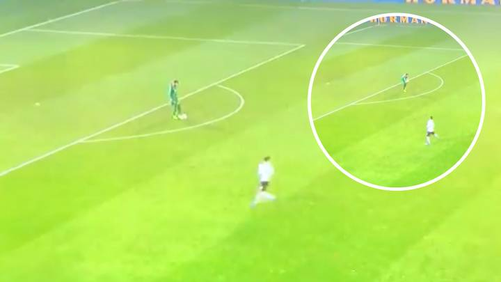 San Marino Goalkeeper Fully Loses His Head For Picking Up Ball Outside Of The Box And Conceding Free-Kick