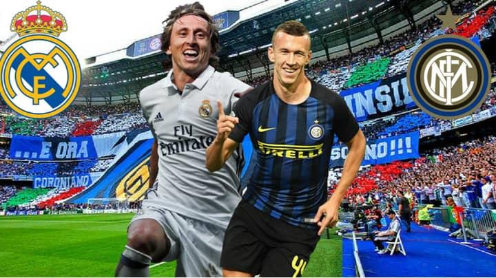 Ivan Perisic And Luka Modric Hint Towards Inter Milan Transfer On Instagram