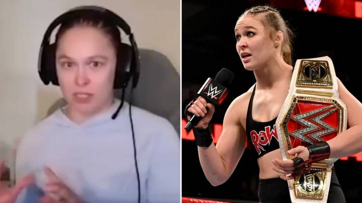 """Ronda Rousey Calls WWE 'Fake' And Slams """"F***ing Ungrateful Fans"""" In Remarkable Interview"""