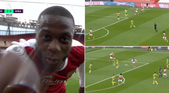 Nicolas Pepe Lays Claim For Arsenal's Goal Of The Season With Stunning Strike Against West Brom