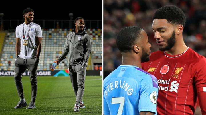 Raheem Sterling Posts Statement After Being Dropped For England Because Of Joe Gomez Incident