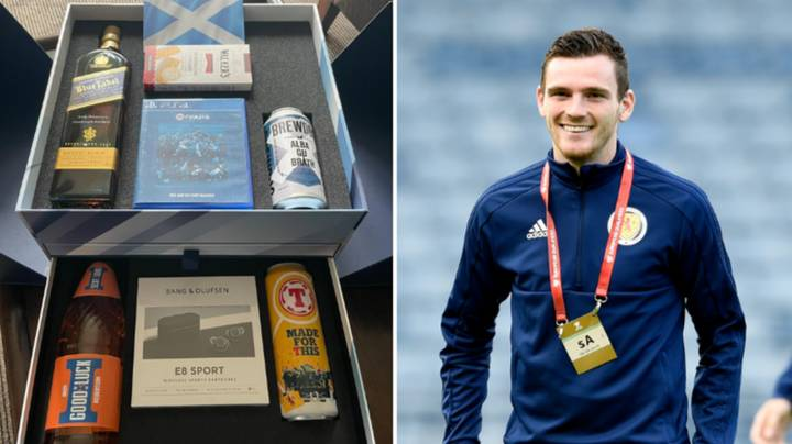 Andy Robertson Gave Whole Scotland Squad A £900 Euro 2020 Gift Boxes